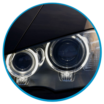 Ask about our headlight restoration service